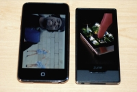 Zune HD vs. iPod touch side-by-side
