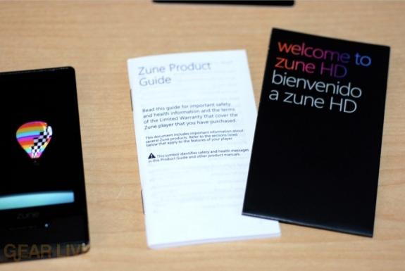 Zune HD Manual