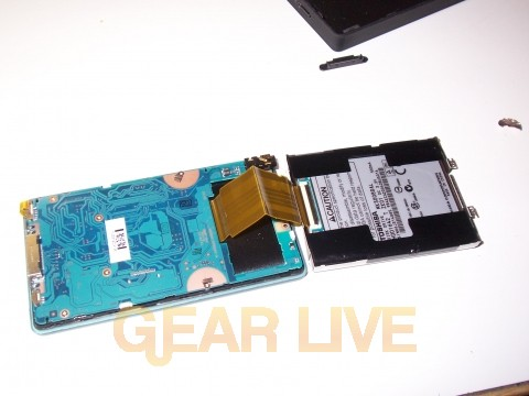 Separating Zune Hard Drive from Motherboard