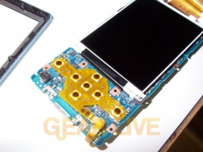 Zune Casing Removed