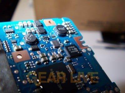 Circuits on Zune Motherboard