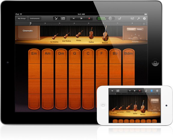 GarageBand Smart Strings