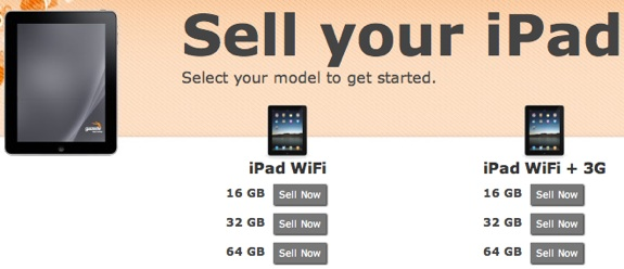Get cash for iPad trade in
