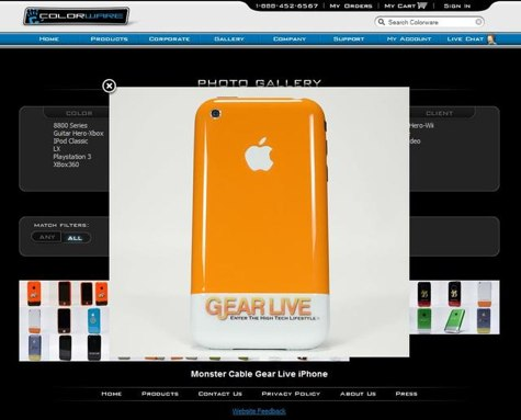 Gear Live iPhone