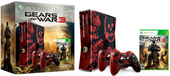 gears of war 3 console bundle sale