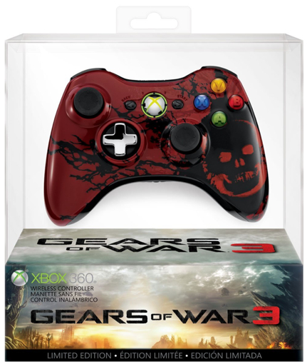 gears of war 3 controller sale