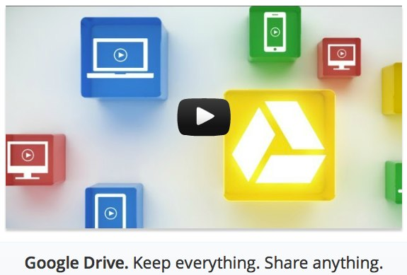 Google Drive Launch