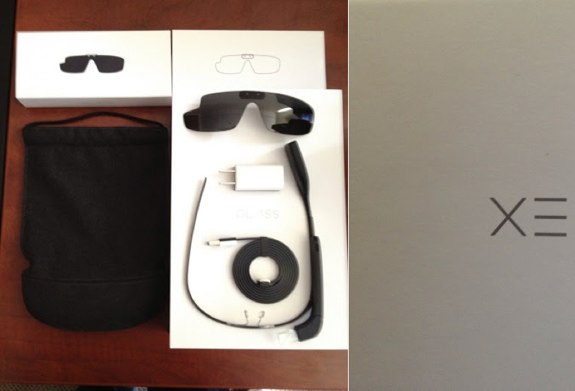 Google Glass unboxed