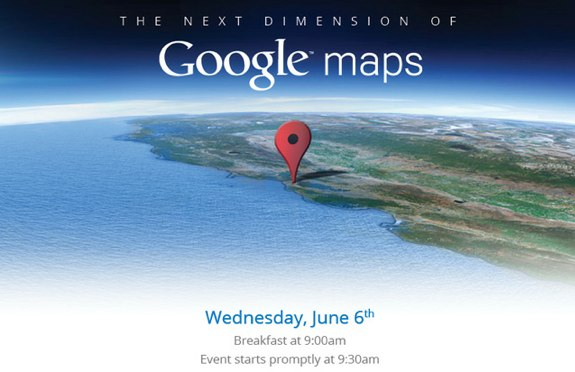Google Maps Event June 6
