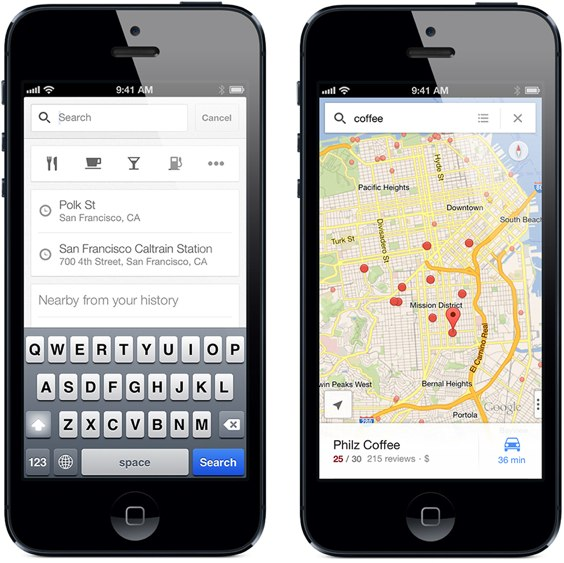 Google Maps for iPhone 1.1