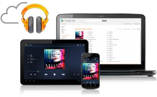 Google Music scan and match
