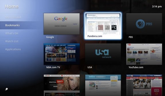 Google TV improvements