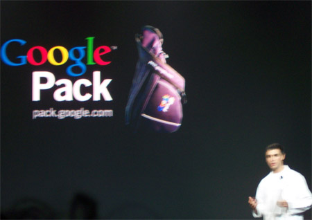 Google Pack Keynote