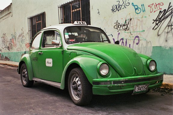 Green Cabs Mexico City