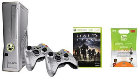 Xbox 360 halo reach limited bundle