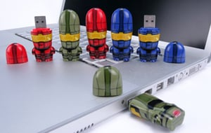 Halo mimobots