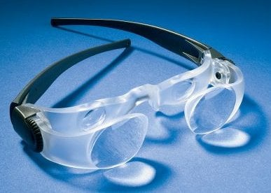 Hands-Free Binocular Glasses