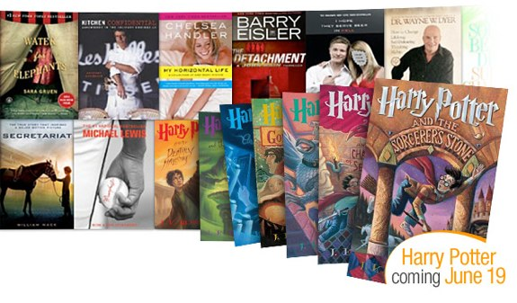 Harry Potter Amazon Kindle Lending Library