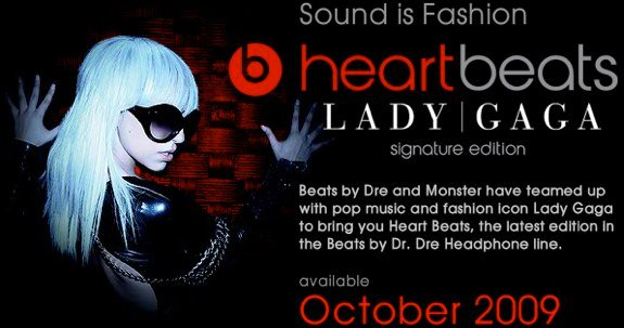 Heartbeats by Lady Gaga