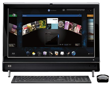 HP TouchSmart 600 apps