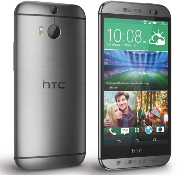 HTC One M8 gunmetal