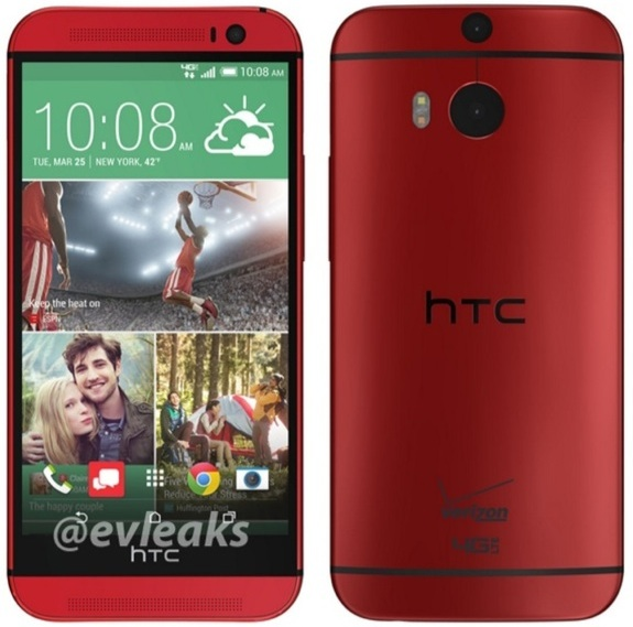 Red Verizon HTC One M8