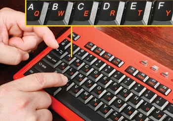 Hunt-and-Peck Keyboard
