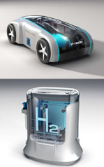 Hydorgen Fuel Cell Toy Car