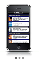 Aura Cacia Aromatherapy app