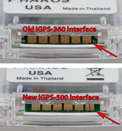 iGPS Interface Differences