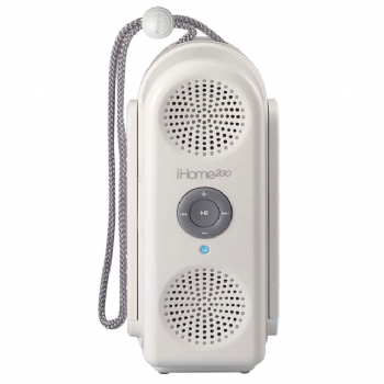 Bring Your Ipod Into The Shower With The Ih2ow Hidro Fi Gear Live - Icarta-ipod-dock-and-toilet-roll-dispenser