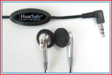 iHearSafe earbuds