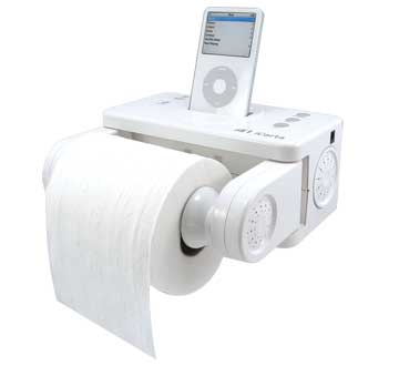 iCarta iPod Toilet Paper Dock