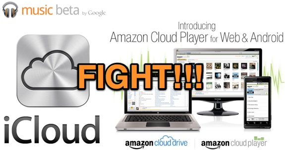 icloud vs google music vs cloud player