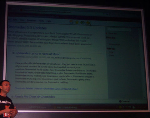 Internet Explorer 7 RSS