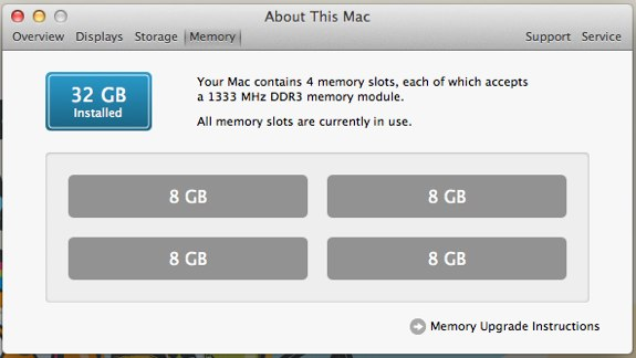 iMac 32GB Upgrade KomputerBay