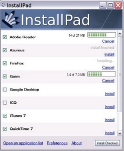 InstallPad