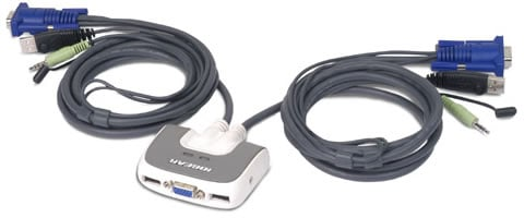 MiniView Micro USB PLUS KVM Switch
