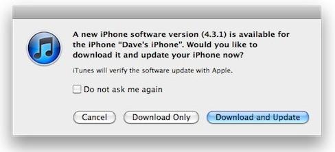 iOS 4.3.1