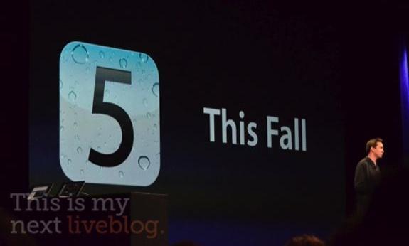 iOS 5 WWDC 2011