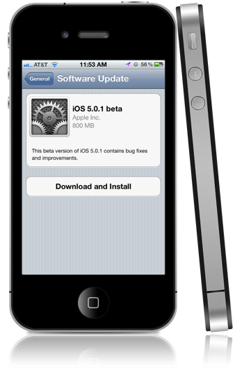 iOS 5.0.1 battery fix