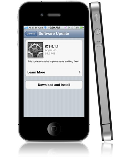 iOS 5.1.1 features