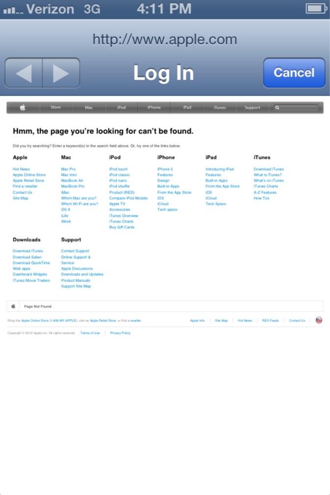 iOS 6 wi-fi bug