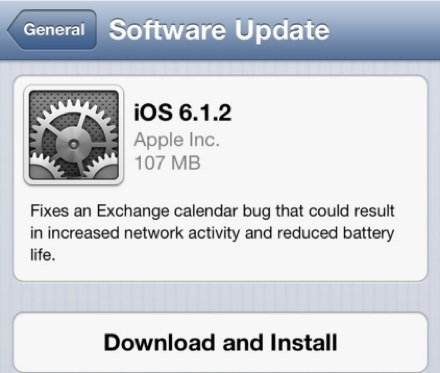 iOS 6.1.2