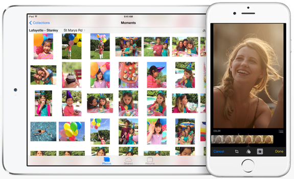 iOS 8 Photos review