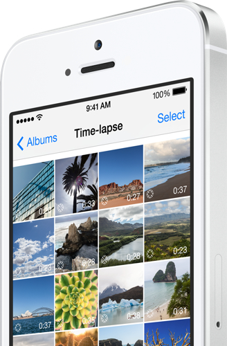 iOS 8 time-lapse camera