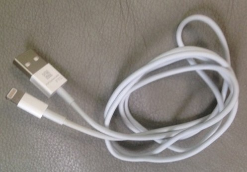 iOS Micro Dock sync cable