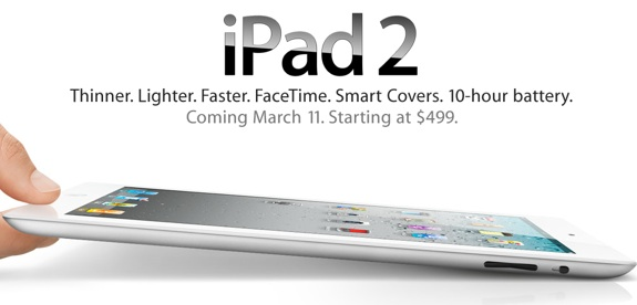 iPad 2 March 25 launch