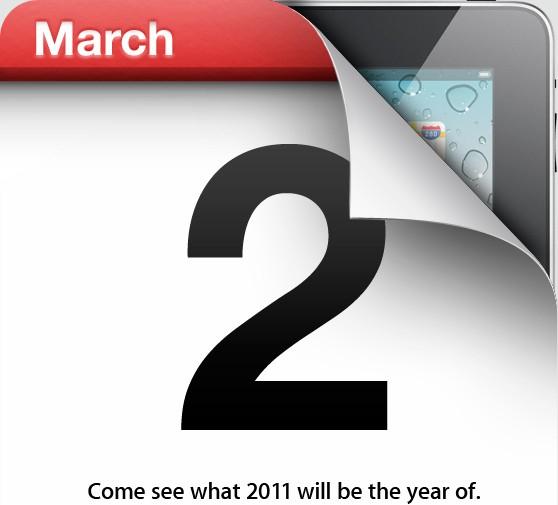 iPad 2 March 2