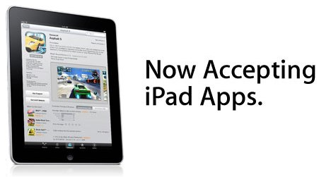 iPad app store